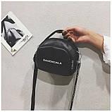 Маленькая черная вместительная сумка, фото 9