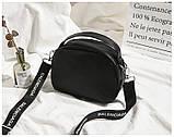 Маленькая черная вместительная сумка, фото 6