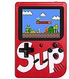 Ігрова приставка, ретро консоль SUP, 400 ігор dendy, red hm, фото 2