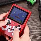 Ігрова приставка, ретро консоль SUP, 400 ігор dendy, red hm, фото 4