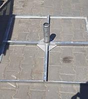 Торговый зонт 5х5 метров с новым тентом, фото 6