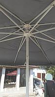 Торговый зонт 5х5 метров с новым тентом, фото 4