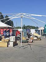 Торговый зонт 5х5 метров с новым тентом, фото 7