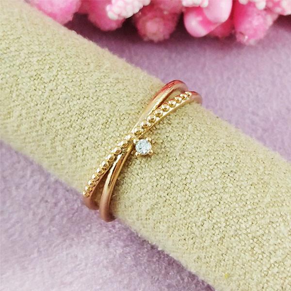 Кольцо детское Xuping Jewelry размер 14,5-15 Принцесса медицинское золото позолота 18К А/В 2-0397