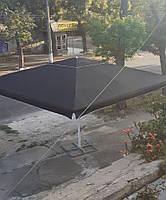 Торговый зонт 5х5 метров с новым тентом, фото 8