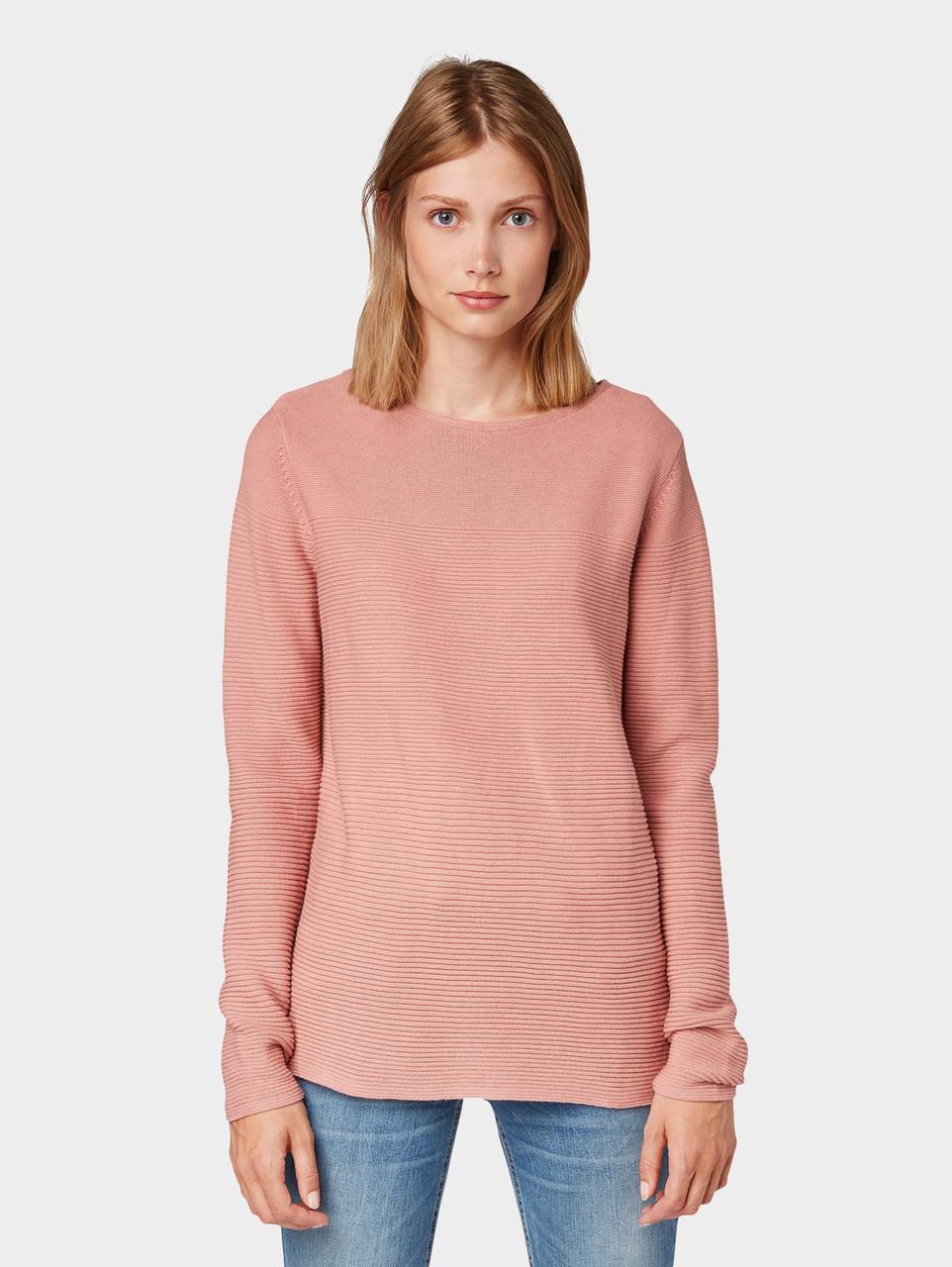 Джемпер Tom Tailor 1012978 XL Розовый