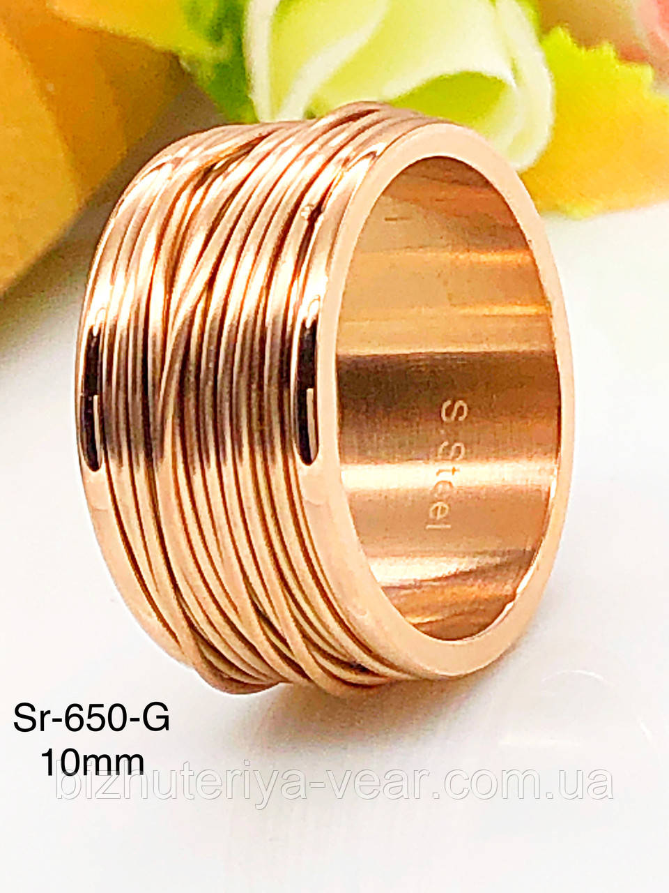 КОЛЬЦО STAINLEES STEEL(ПРЕМИУМ) Sr-650(7,8,9,10)