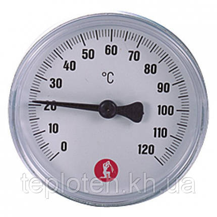 "Термометр Giacomini 1/2"" - 0÷120 °C - Ø61,5 mm, фото 2"