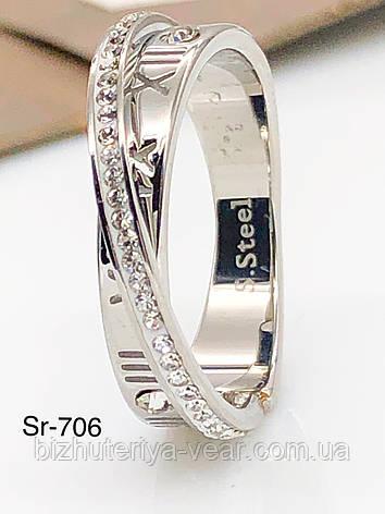 КОЛЬЦО STAINLESS STEEL(ПРЕМИУМ) Sr-706(6,7,8,9), фото 2