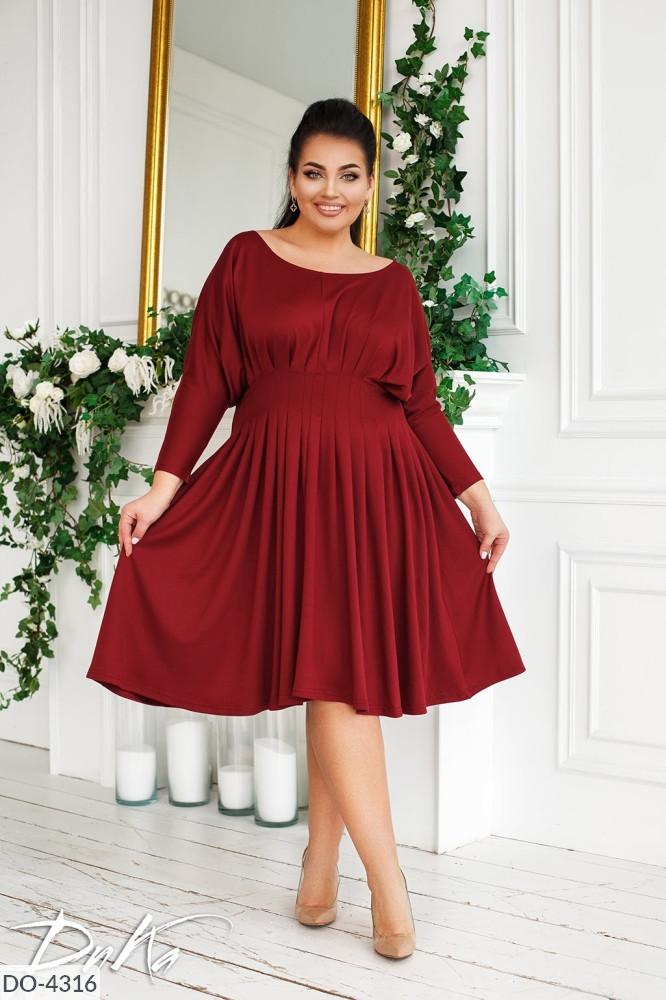 Платье в больших размерах (DG-ат 0557)