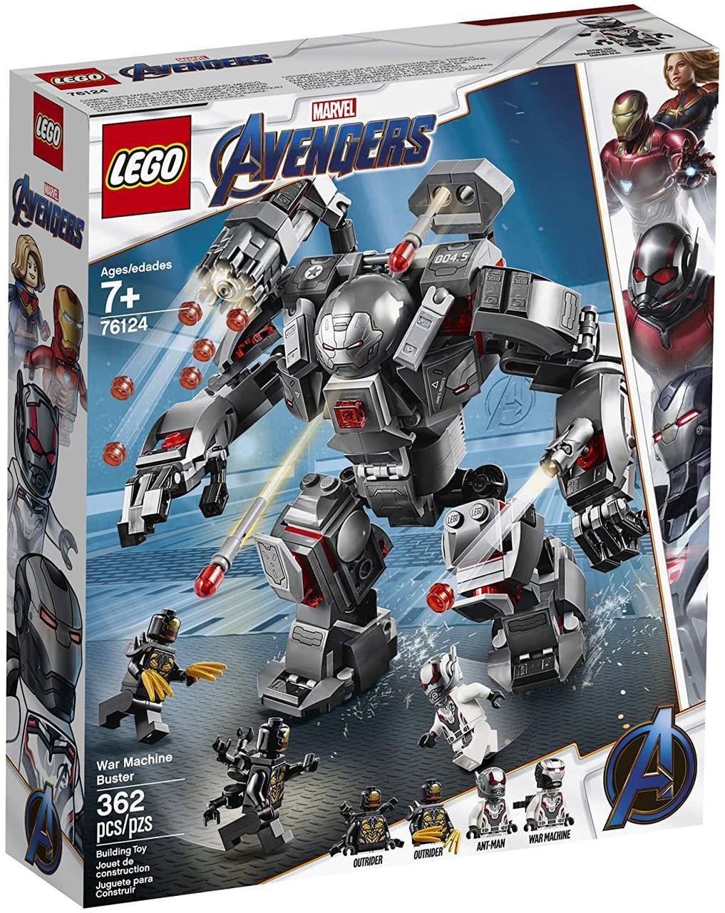 Конструктор 76124 Lego Super Heroes Воитель