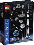 Конструктор LEGO Ideas 21309 Ракетно-космическая система НАСА «Сатурн-5-Аполлон», фото 5
