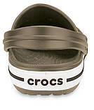Летние кроксы Crocs Crocband хаки 39 р., фото 3
