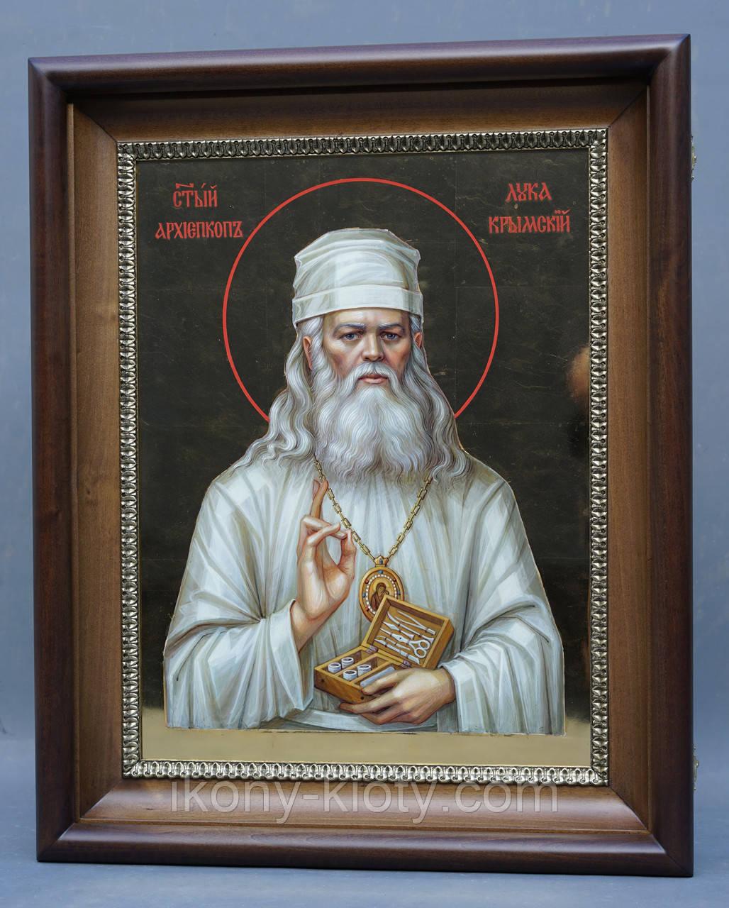 Киот для иконы Луки Крымского