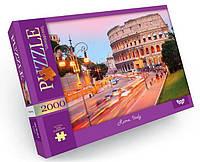 Пазл 2000 элементов / Рим-Колизей, Италия