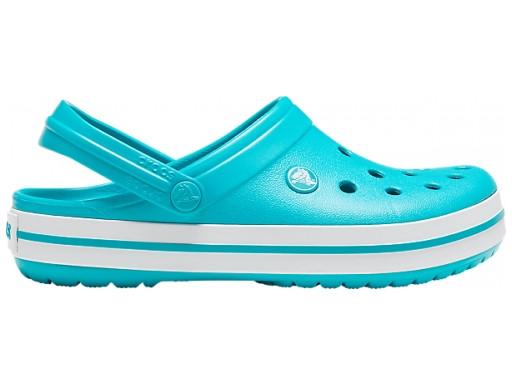 Кроксы женские Crocs Crocband бирюзовые 38 р.