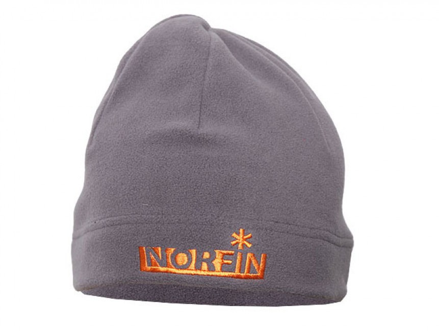 Шапки Norfin Fleece серый L/57/58