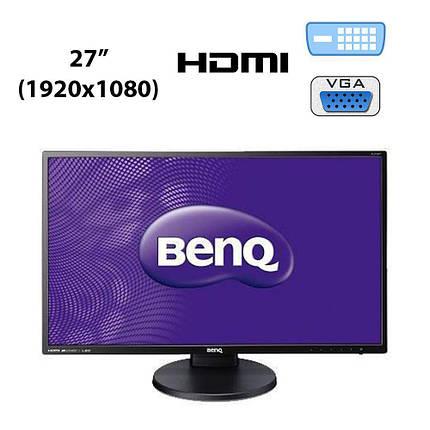 "BenQ BL 2700HT / 27"" (1920x1080) IPS AMVA+ (SNB) W-LED / HDMI, DVI, VGA, Audio Ports, фото 2"