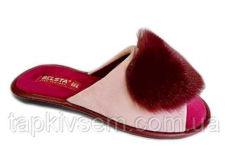 Тапочки женские Белста ОРИГИНАЛ Пурпурный  555 37