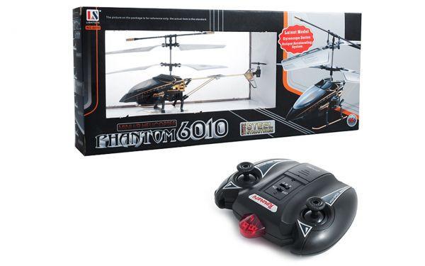 Вертолёт 3-к микро и/к Phantom 6010-1 (Черный)
