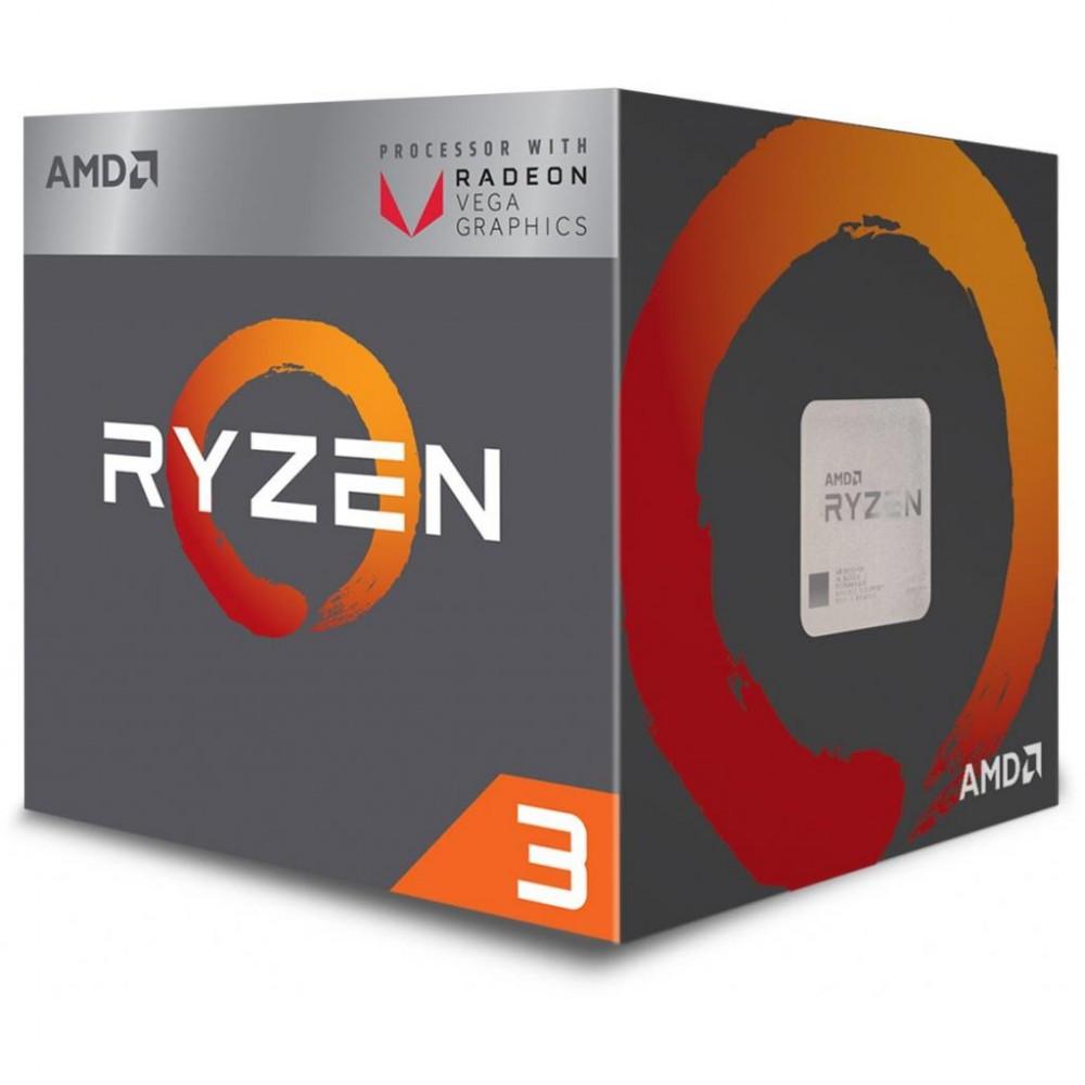 Процессор AMD Ryzen 3 2200G 3.5GHz/4MB, sAM4 BOX (YD2200C5FBBOX damaged box)