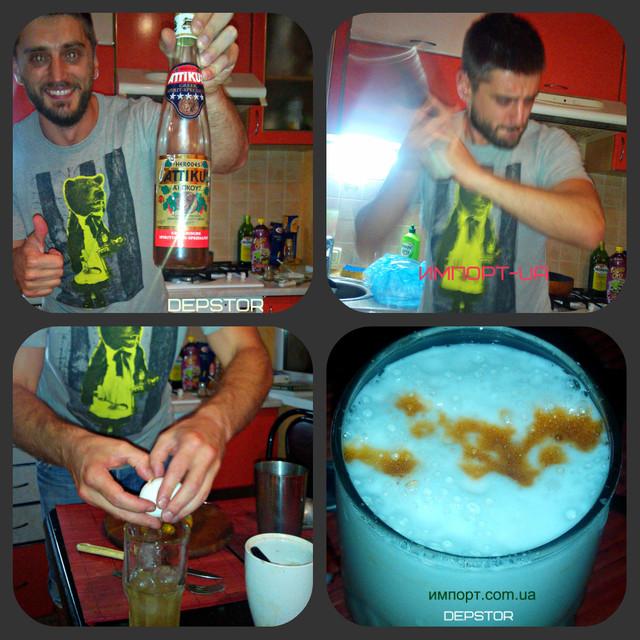 "Рецепт коктейля ""Brandy Sour"" в фотографиях by Alex Shtond (Depstor Bar)"