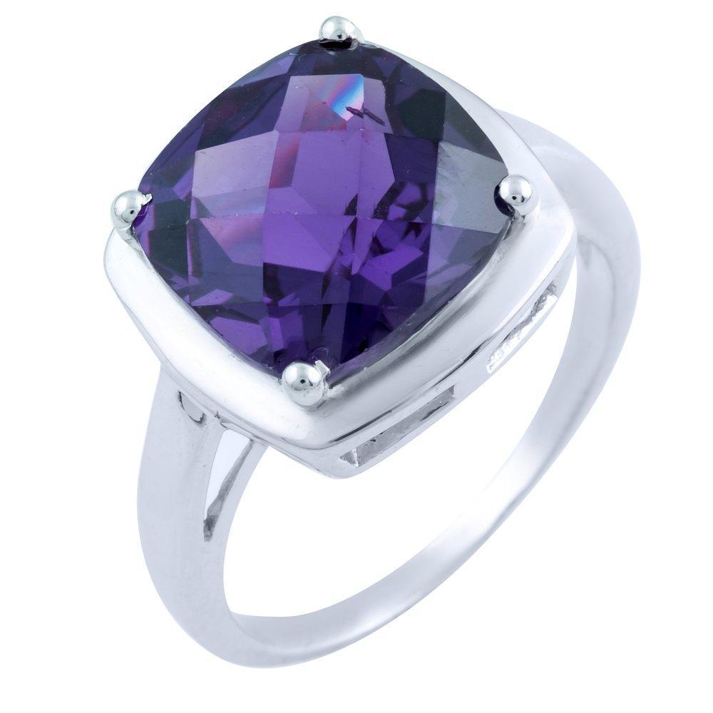 Серебряное кольцо DreamJewelry с александритом 6.91ct (1765586) 18 размер