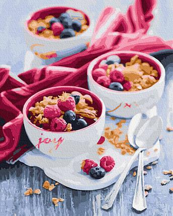 Картина по Номерам Вкусный завтрак 40х50см RainbowArt, фото 2