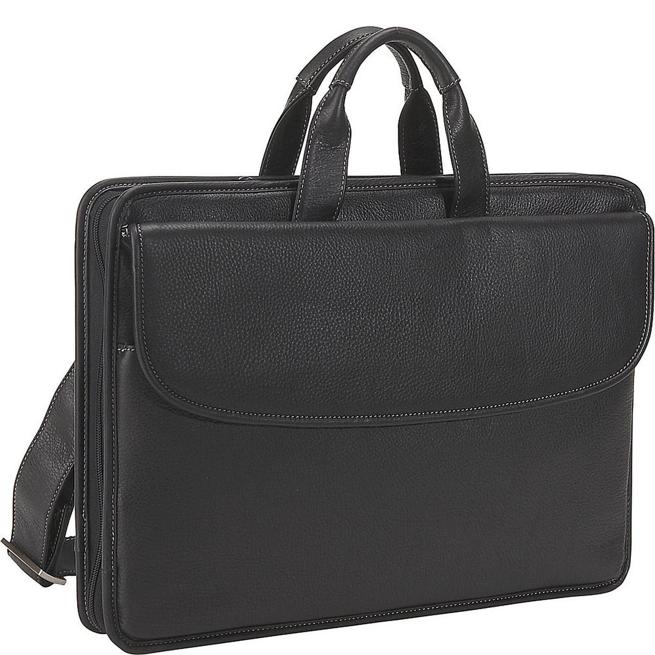 Кожаный портфель Johnston & Murphy