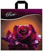Пакет петля КВС 43*43 Роза, фото 1