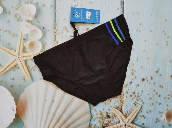 Шорты-плавки мужские SAME GAME 4112 черный(есть 50 размеры), фото 2