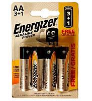 Батарейки Energizer Alkaline AA LR6, 4 шт