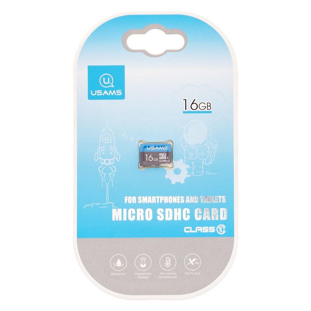 Карта памяти USAMS US-ZB093 Micro SDHC 16GB Class 10