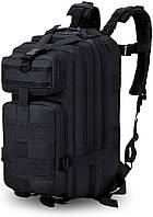 Рюкзак тактический A02 25 л, черный