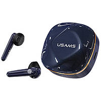 Наушники Bluetooth TWS USAMS US-SD001, синие