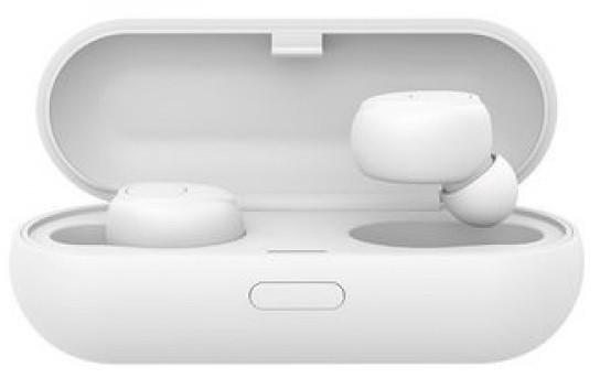 Наушники беспроводные Bluetooth Celebrat TWS W5 в кейсе, белые