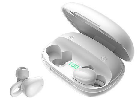 Наушники беспроводные Bluetooth JOYROOM JR-TL2 в кейсе, белые