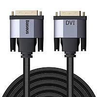 Кабель DVI - DVI 1 м Baseus Enjoyment Series CAKSX-QOG