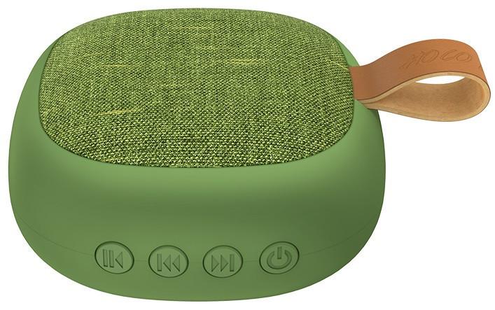 Портативная Bluetooth колонка HOCO Bright sound sports BS31, зеленая