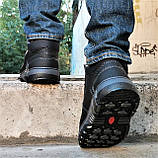 Ботинки ЗИМНИЕ Мужские Colamb!a Кроссовки на Меху Чёрные (размеры:40,41,42,43) Видео Обзор, фото 6