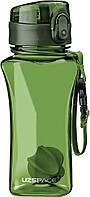 Бутылка для воды UZSPACE 6005 350 мл, зелёная