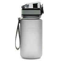 Бутылка для воды UZspace 3034 350 мл, серая