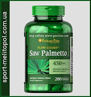 Puritans Pride SAW PALMETTO 450 мг 100 капс.