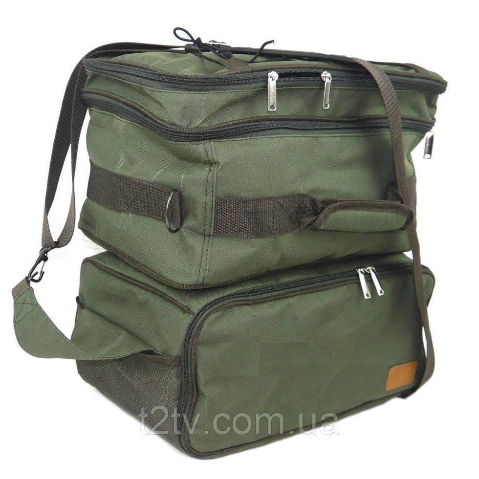 Сумка для риболовлі VA P-32, зелена