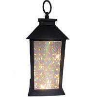 Лампа-фонарь с подсветкой Stenson R28324, 13 х 13 х 28 см
