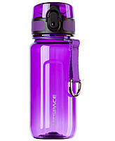 Бутылка для воды UZSPACE 6017 Twisted 350 мл, фиолетовая