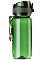 Бутылка для воды UZSPACE 6017 Twisted 350 мл, зеленая
