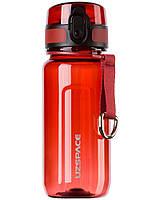 Бутылка для воды UZSPACE 6017 Twisted 350 мл, красная