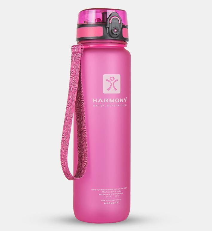Бутылка для воды Harmony 1 л, розовая