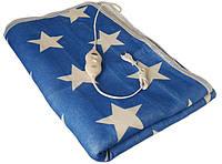 Электропростынь Electric Blanket 7421 150х160 см, белая звезда